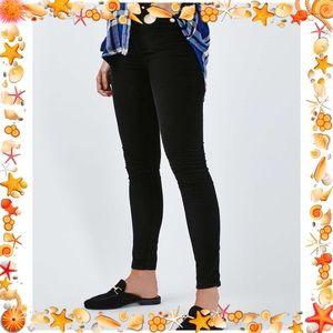 💜topshop moto Jamie high waist velvet skinnies 💜